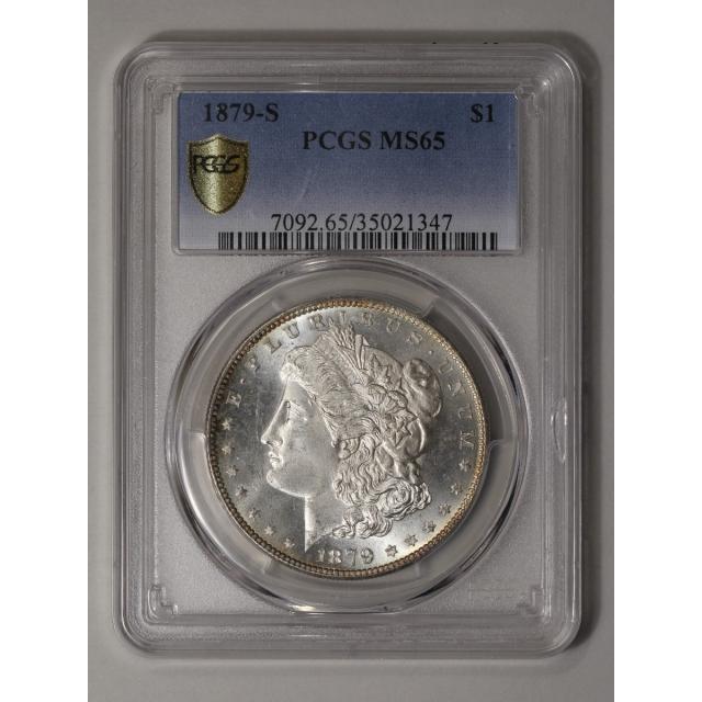 1879-S $1 Morgan Dollar PCGS MS65