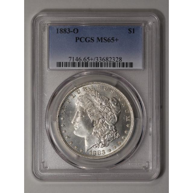 1883-O $1 Morgan Dollar PCGS MS65+